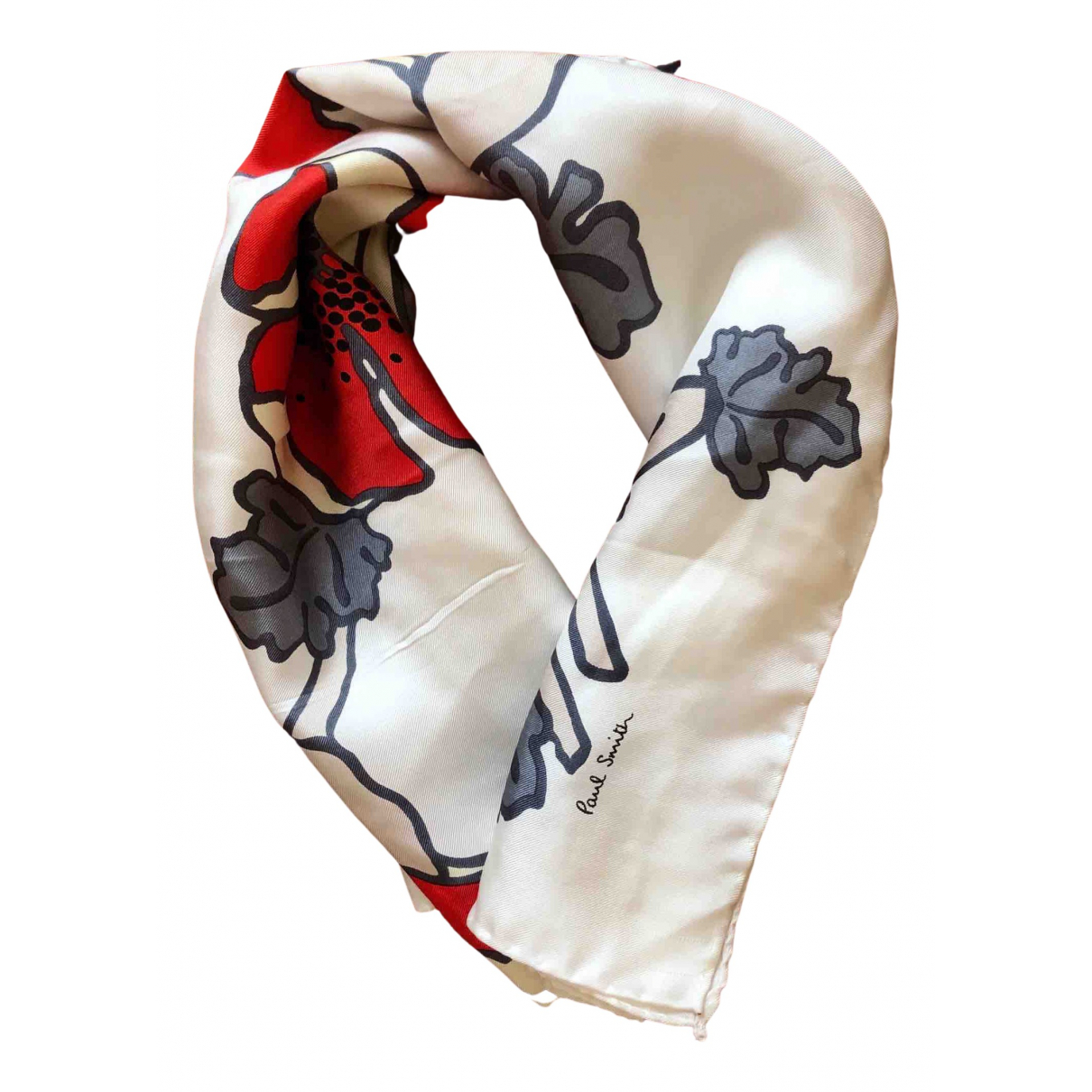 Paul Smith N White Silk scarf for Women N