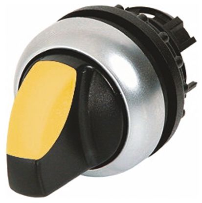 Eaton M22 Illuminated Selector Switch - 3 Position, Latching, 22mm cutout
