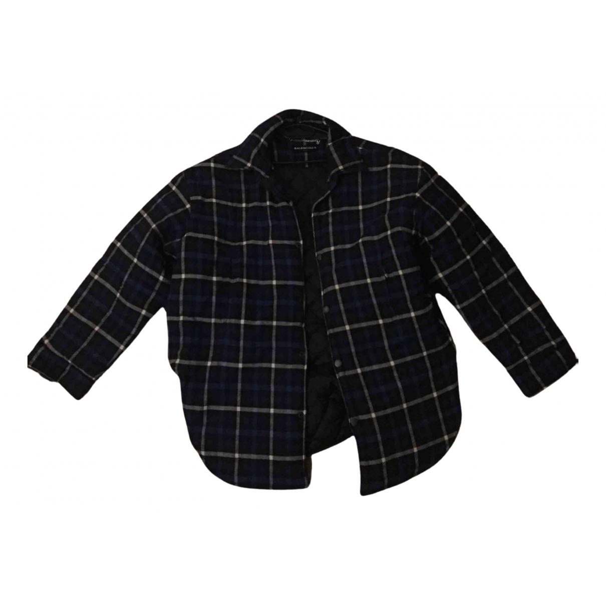 Balenciaga N Blue Cotton jacket  for Men XL International