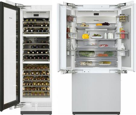 MasterCool II Series 2 Piece Kitchen Appliances Package with KF2981Vi 36
