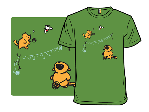 A Friendly Game Of Badkitten T Shirt