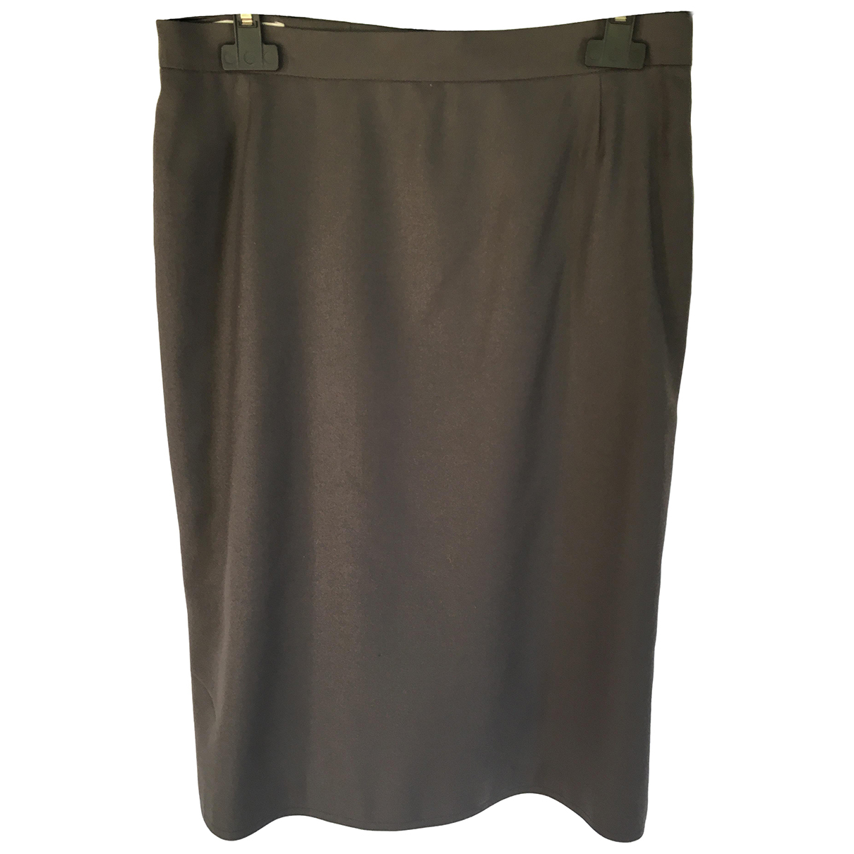 Chloé \N Grey Wool skirt for Women 44 IT