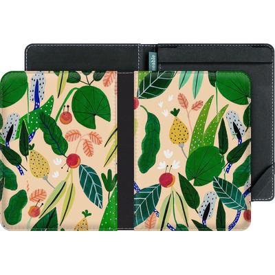 tolino vision 4 HD eBook Reader Huelle - Tropical Greens von Iisa Monttinen