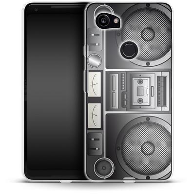 Google Pixel 2 XL Silikon Handyhuelle - Beatbox von caseable Designs
