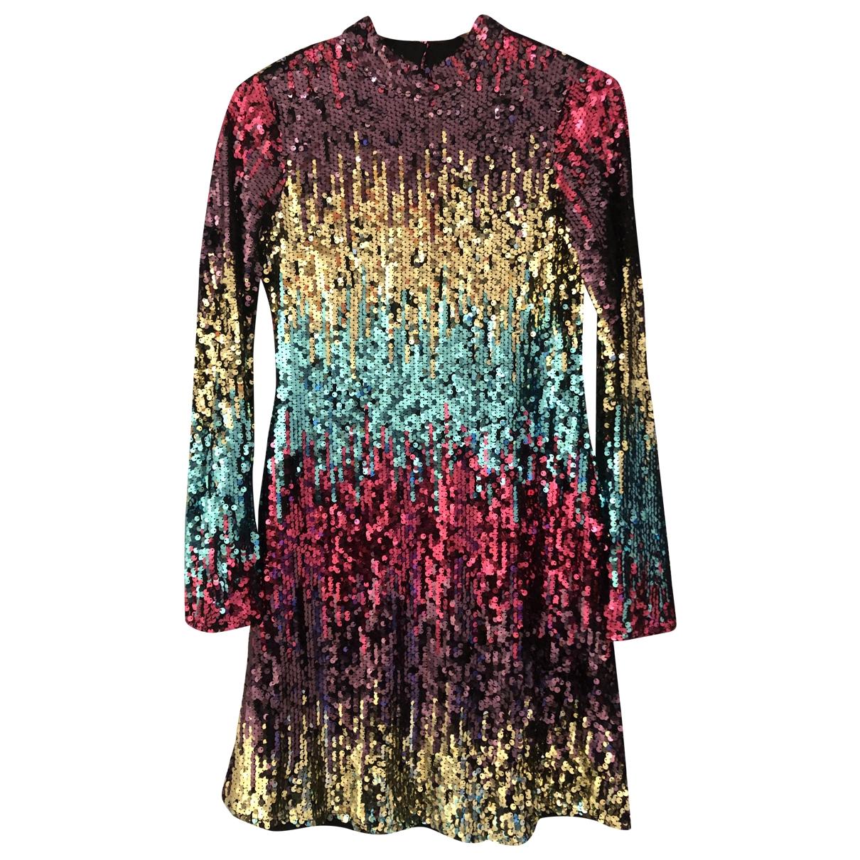 Miss Selfridge \N Kleid in  Bunt Synthetik