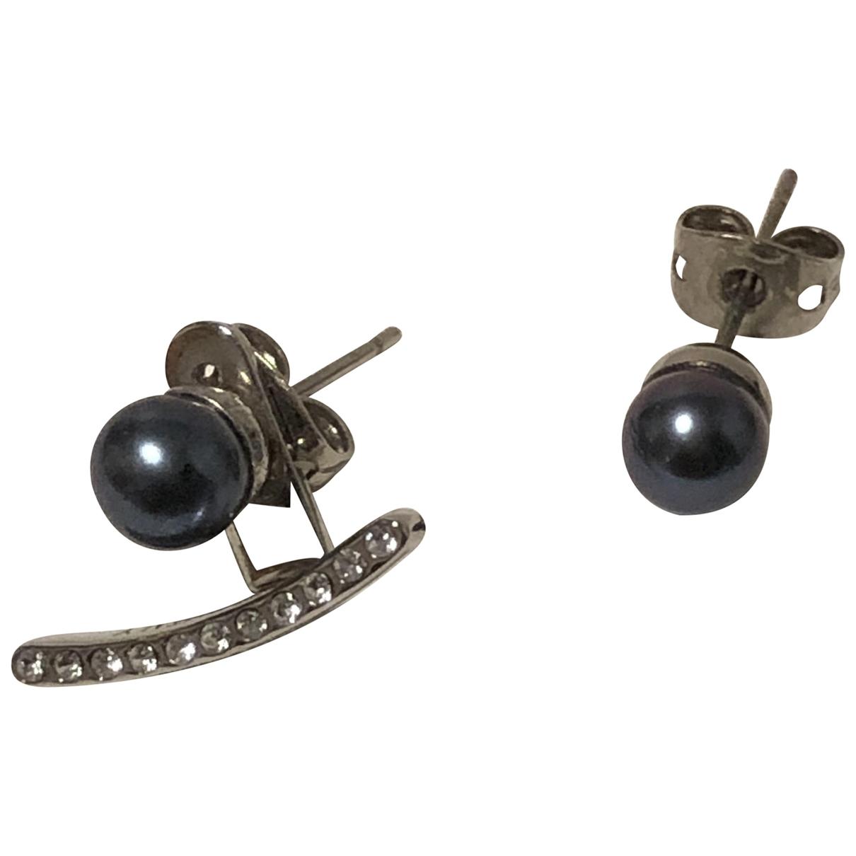 Vita Fede \N Silver Metal Earrings for Women \N