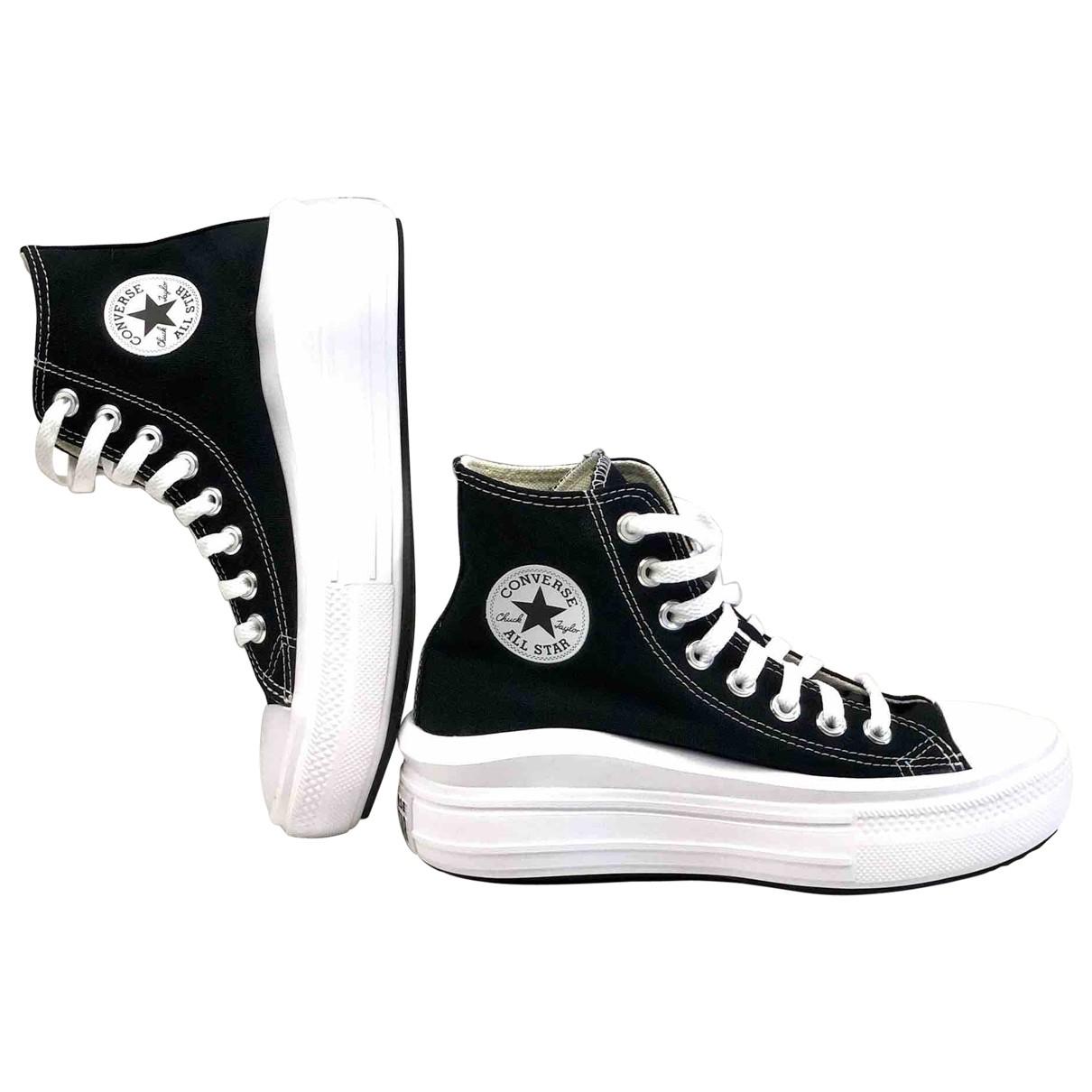 Converse \N Black Cloth Trainers for Women 38 EU