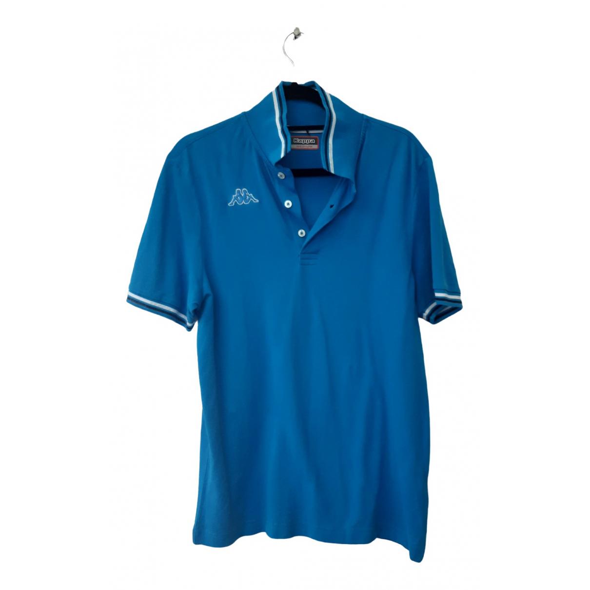 Kappa \N Poloshirts in  Blau Baumwolle