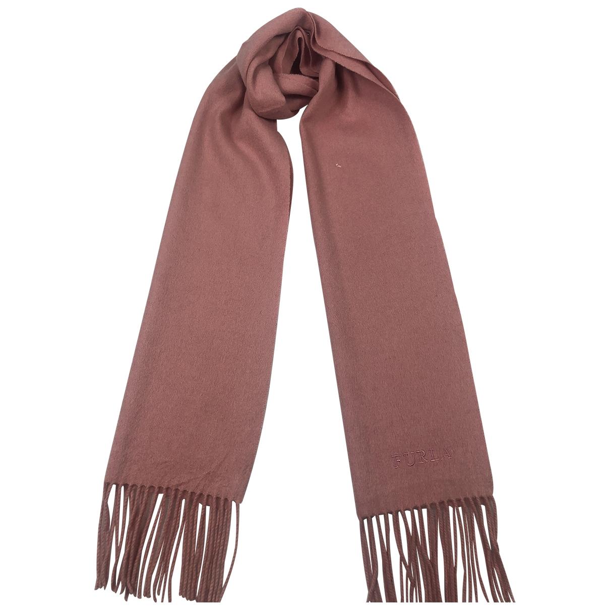 Furla \N Pink Wool scarf for Women \N