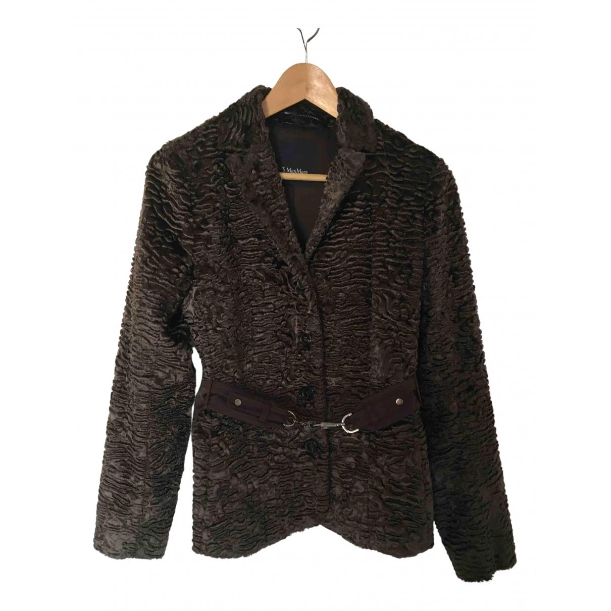 Max Mara 's \N Brown jacket for Women 36 FR