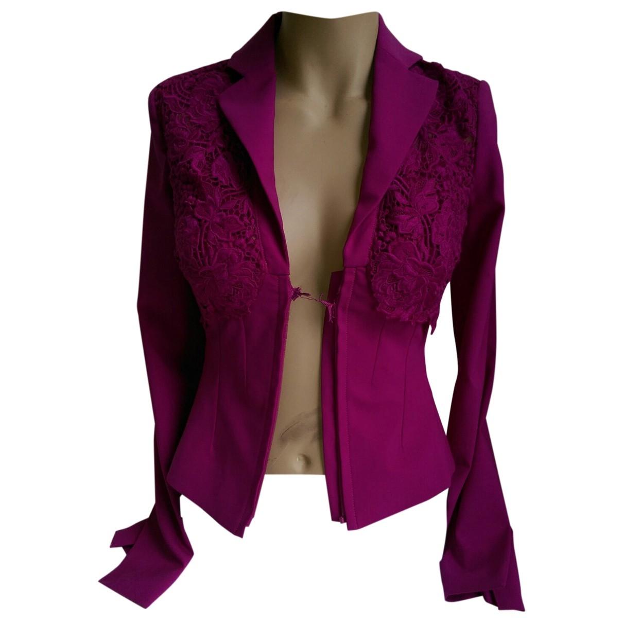 La Perla - Veste   pour femme en laine - violet