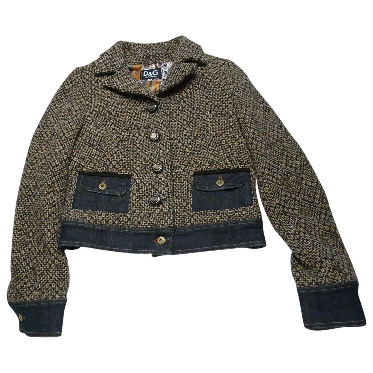 D&g \N Tweed jacket for Women 44 IT