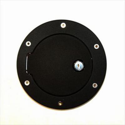 AMI Fuel Door Cover (Black Aluminum) - 6047KL