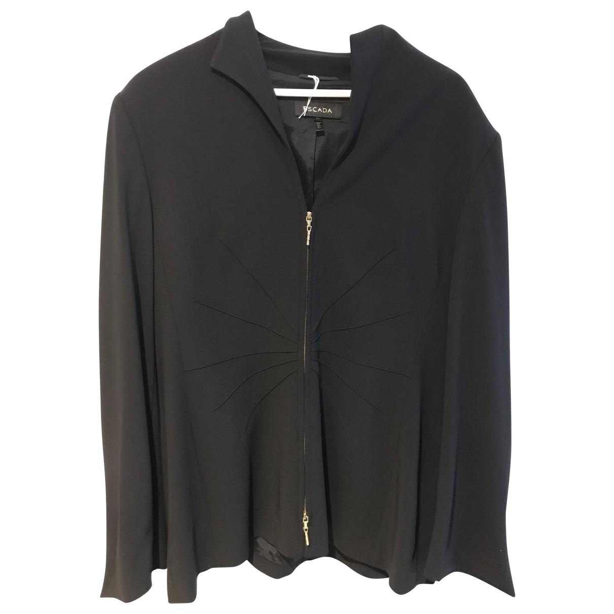 Escada \N Black Wool jacket for Women 44 FR