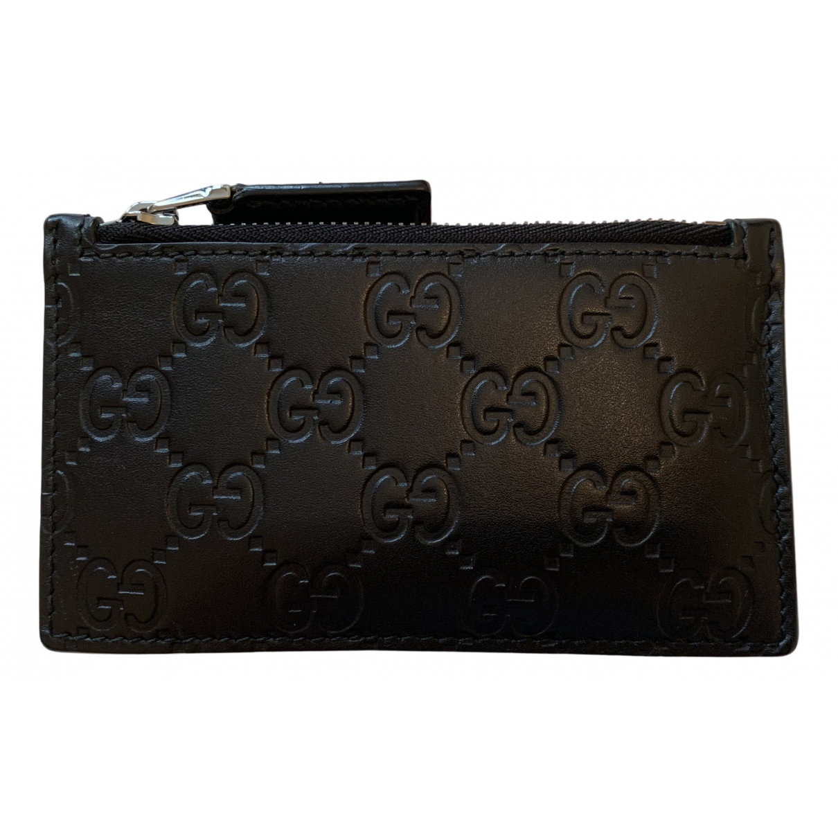 Gucci Ophidia Black Leather Purses, wallet & cases for Women N
