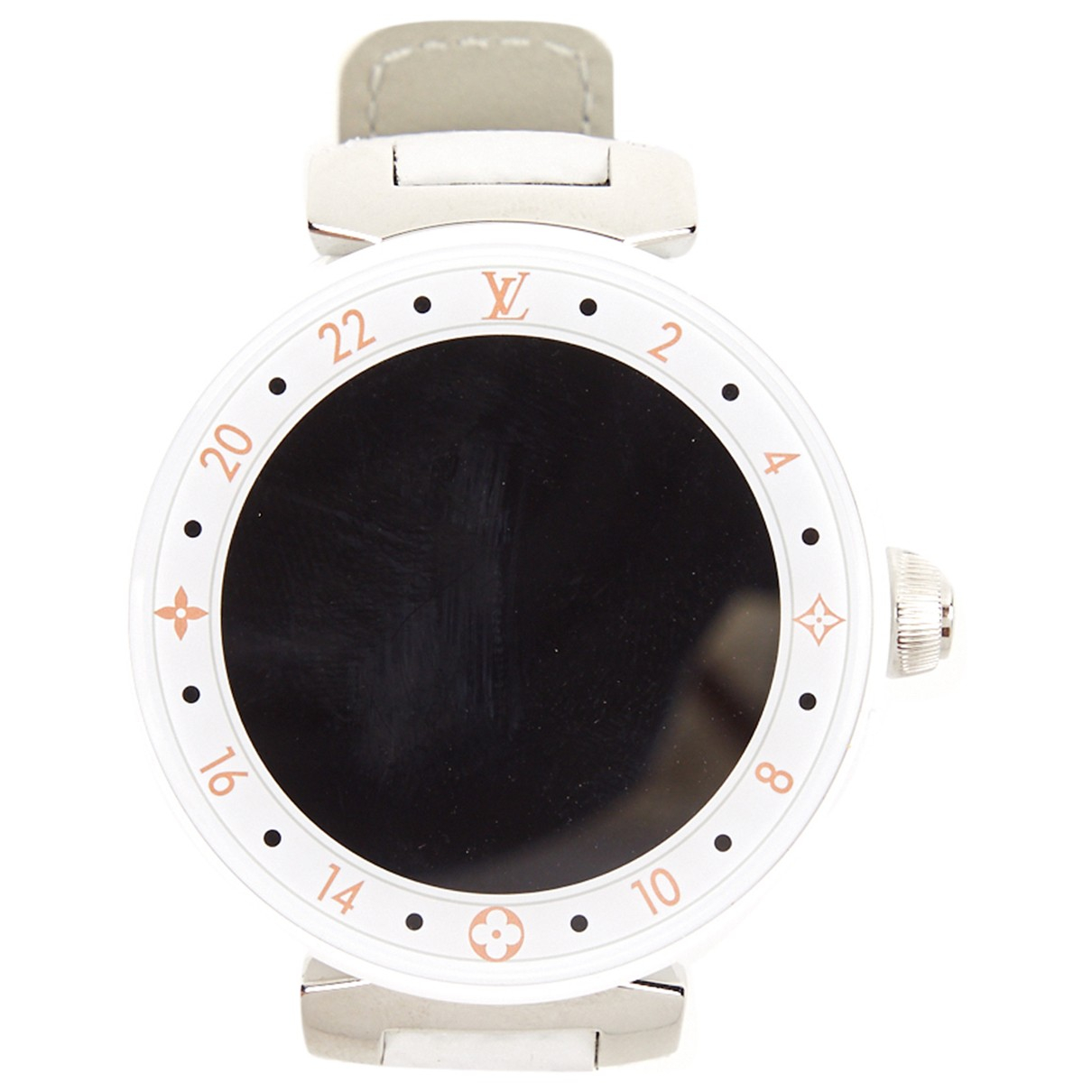 Louis Vuitton Tambour Horizon Uhr in  Weiss Keramik