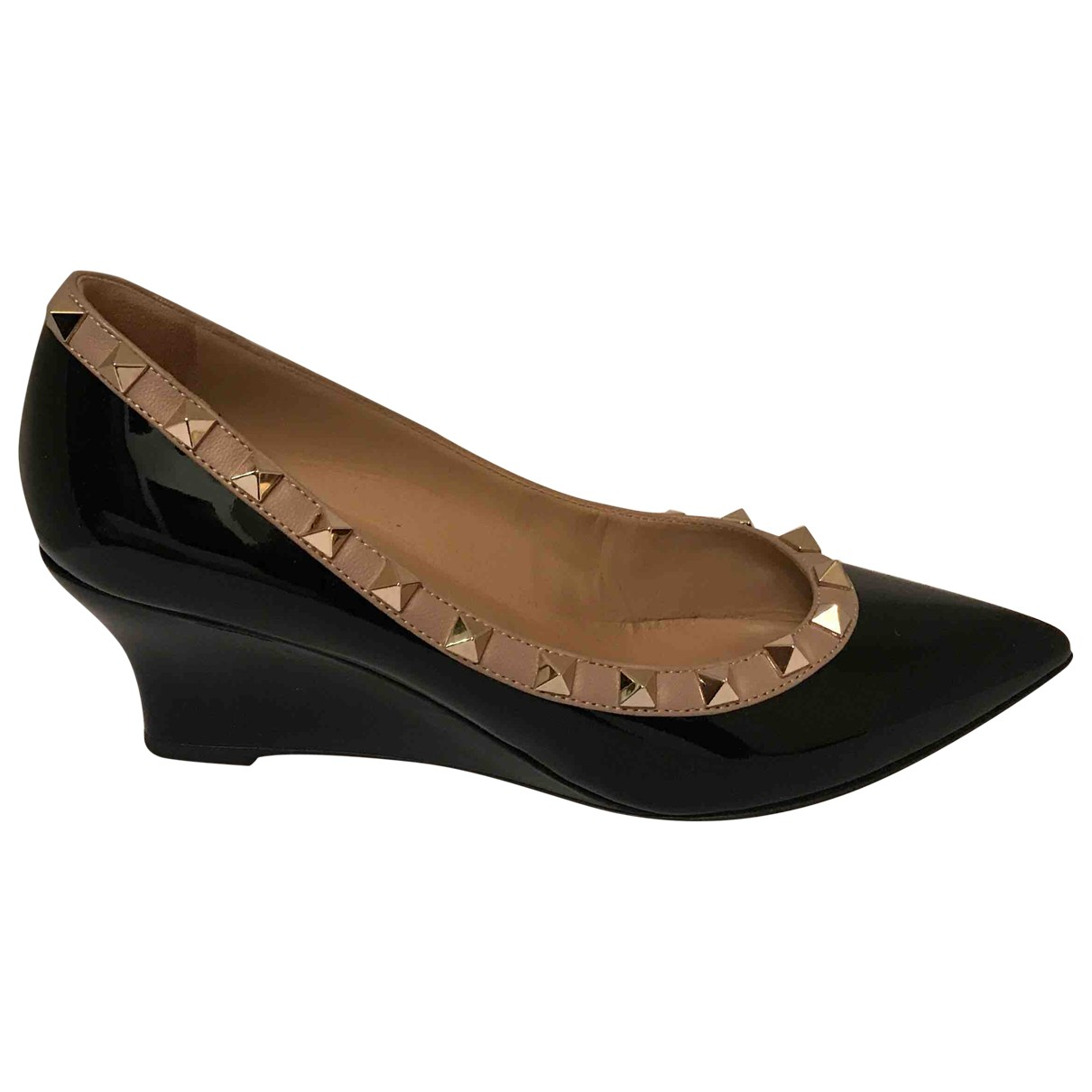Valentino Garavani \N Black Patent leather Heels for Women 36 EU