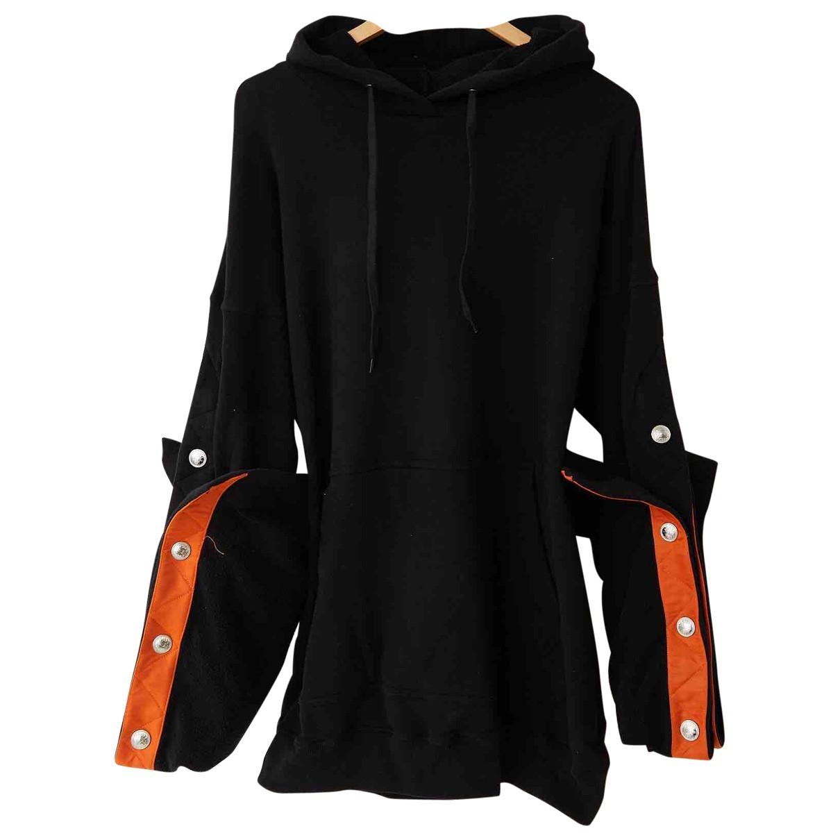 Y/project - Pull   pour femme en coton - noir