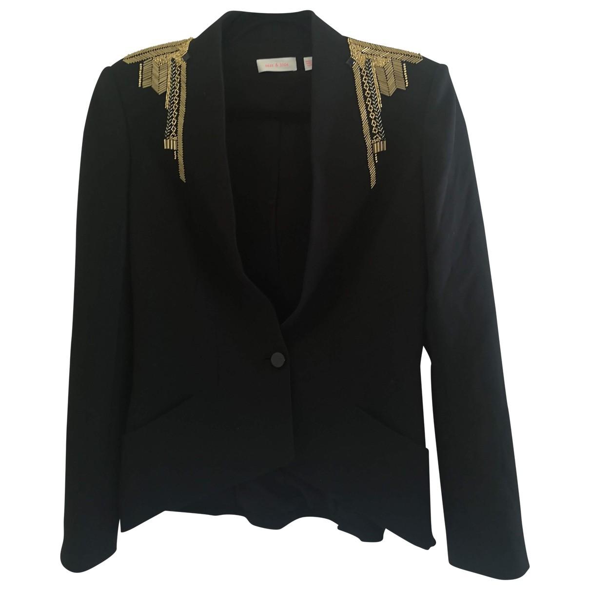 Sass & Bide \N Black jacket for Women 10 UK