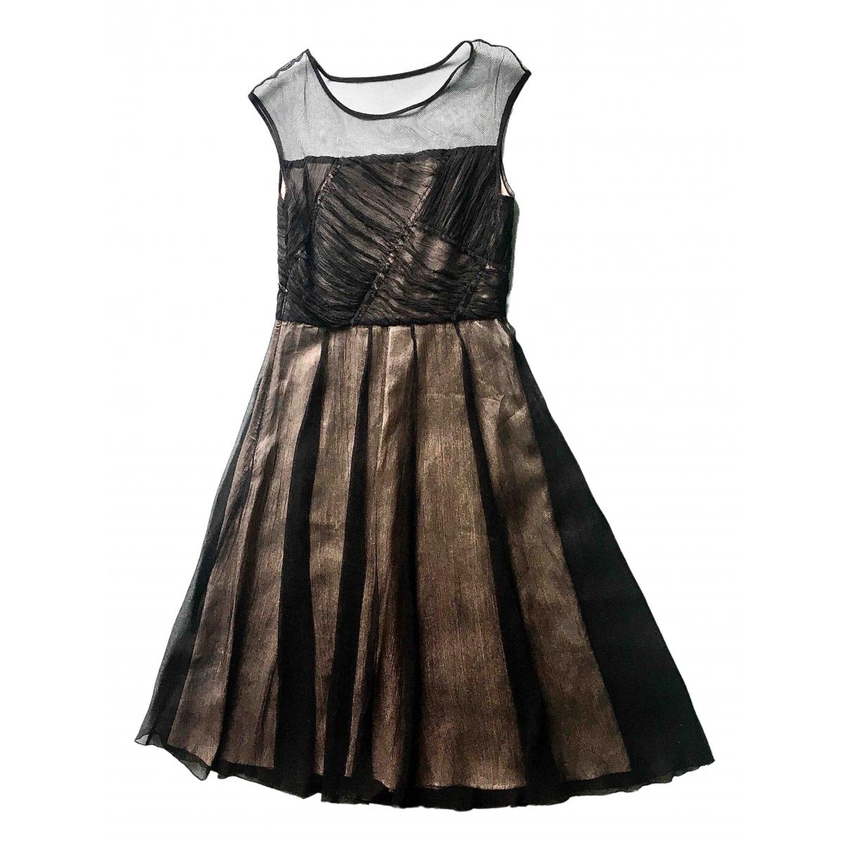 Stills Atelier \N Kleid in  Schwarz Seide
