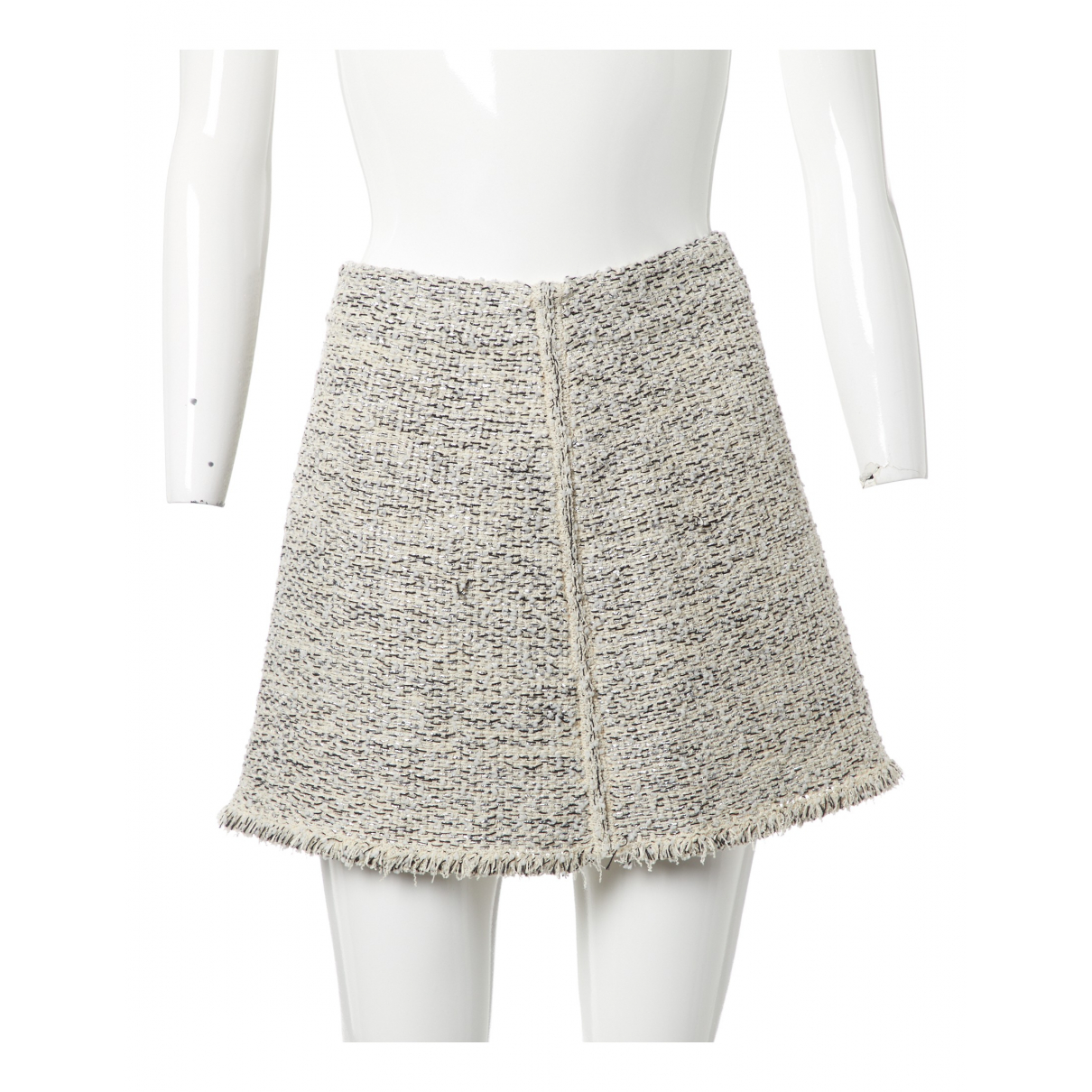 Balenciaga \N Metallic Tweed skirt for Women 38 FR