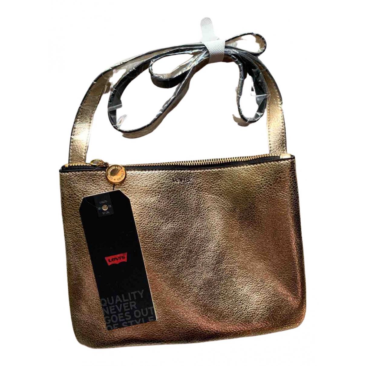 Levi's \N Gold handbag for Women \N