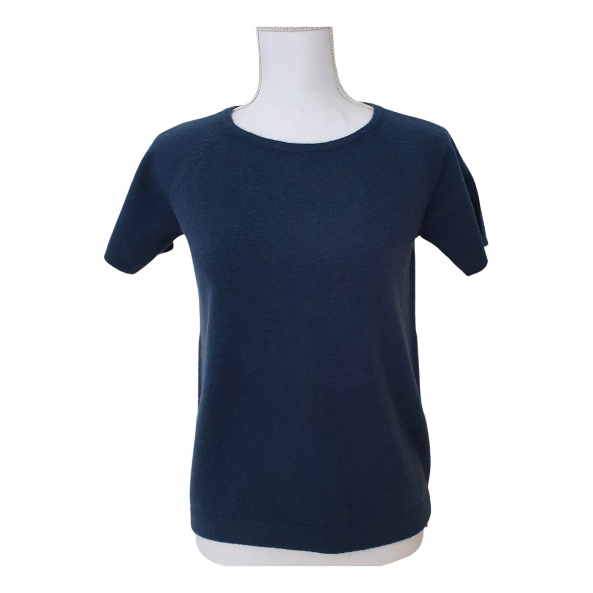 Non Signé / Unsigned \N Blue Wool  top for Women S International