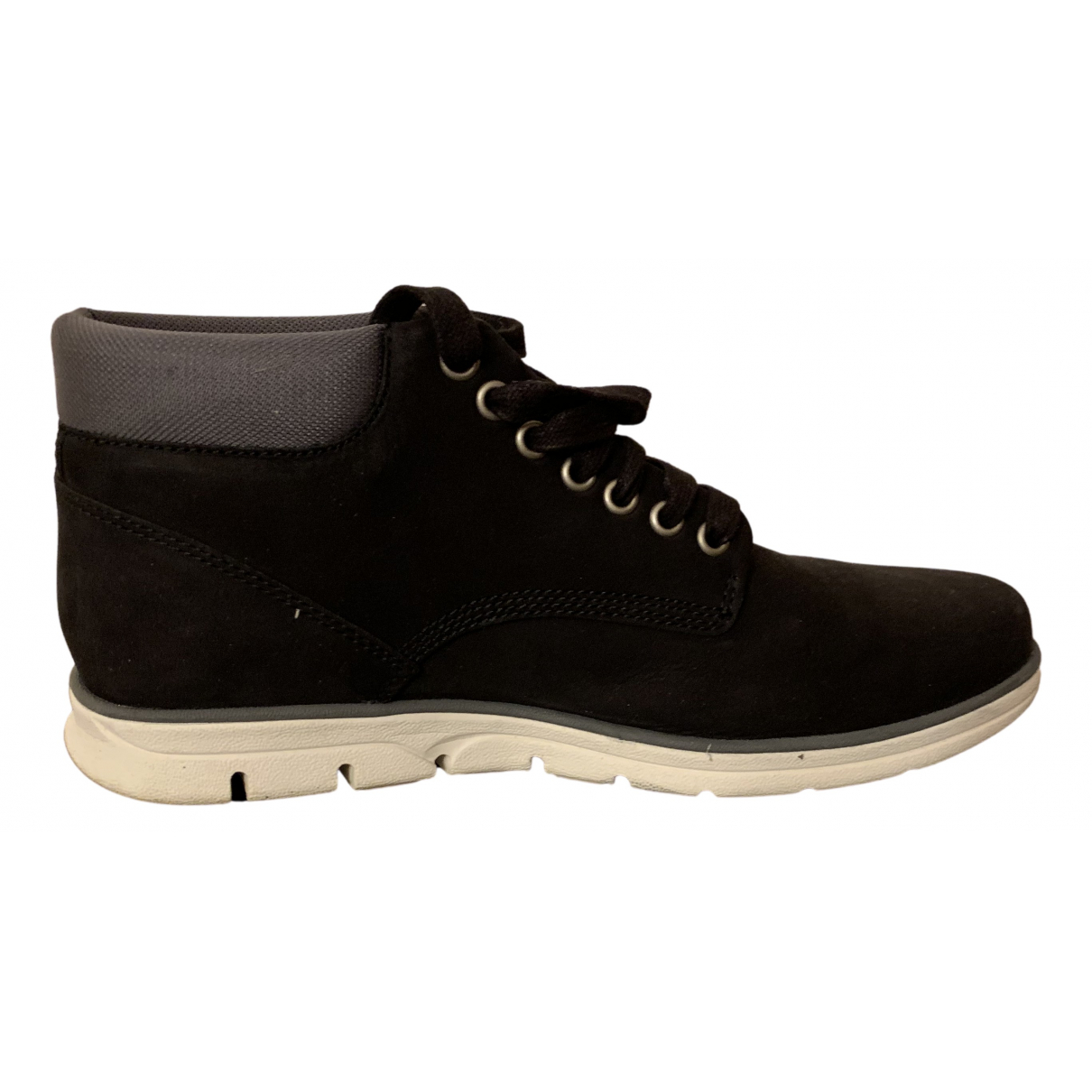 Timberland \N Black Suede Boots for Men 41 EU