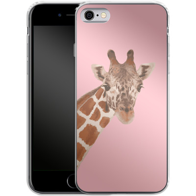 Apple iPhone 6 Silikon Handyhuelle - Giraffe Pride von Mukta Lata Barua