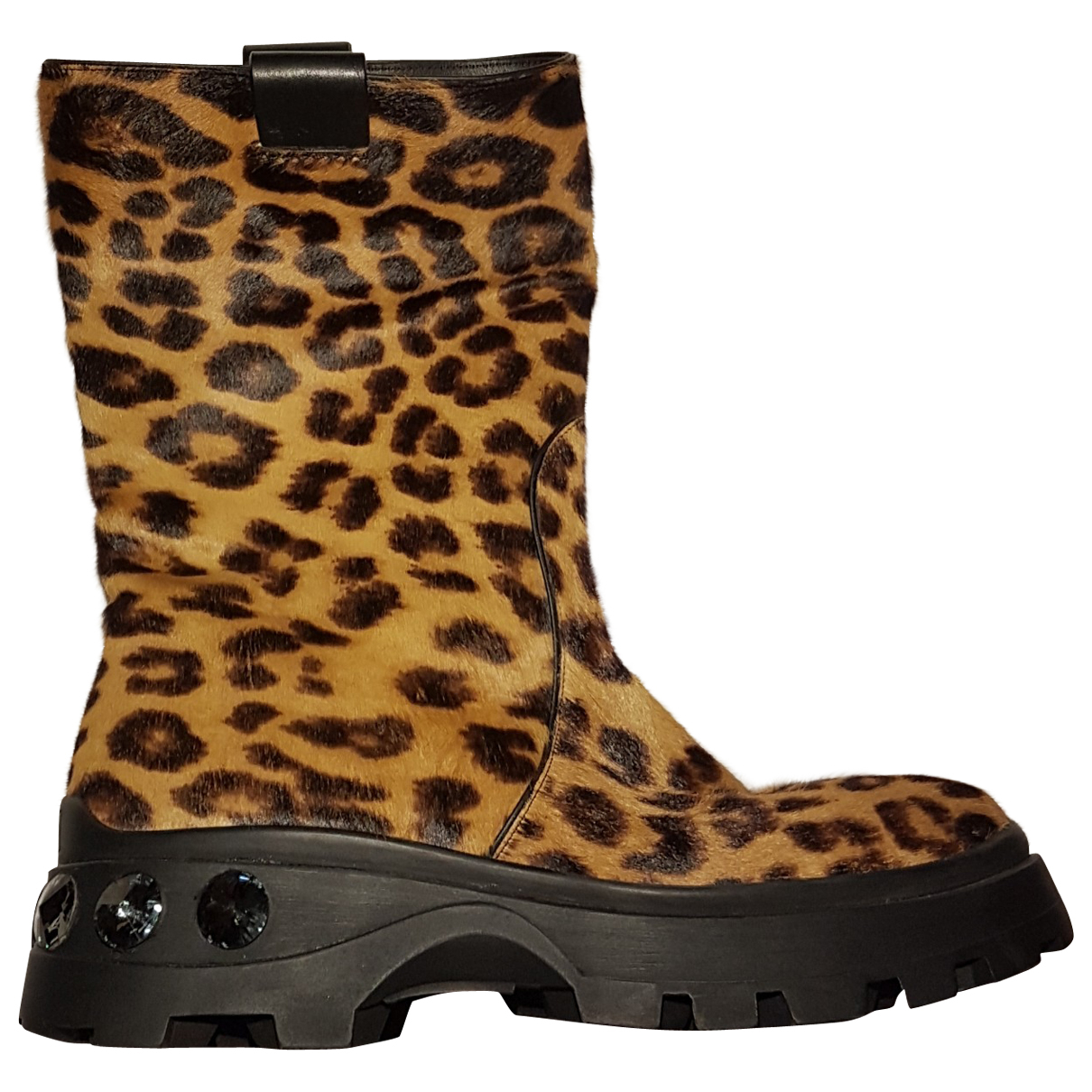 Miu Miu N Pony-style calfskin Ankle boots for Women 37 EU