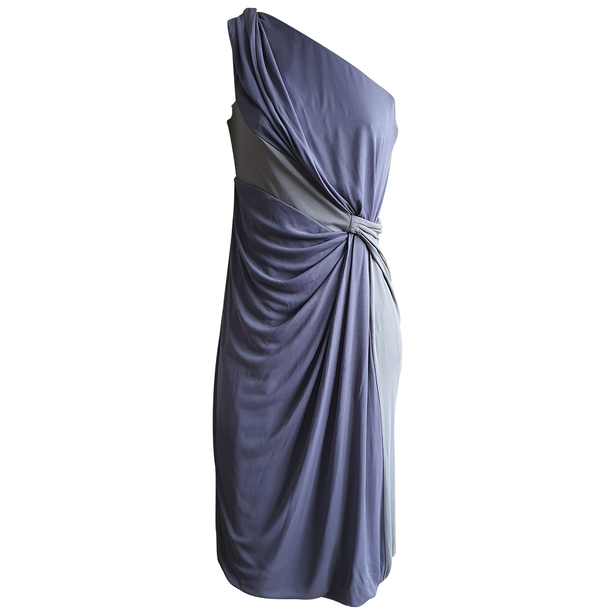Alberta Ferretti \N Kleid in  Bunt Seide