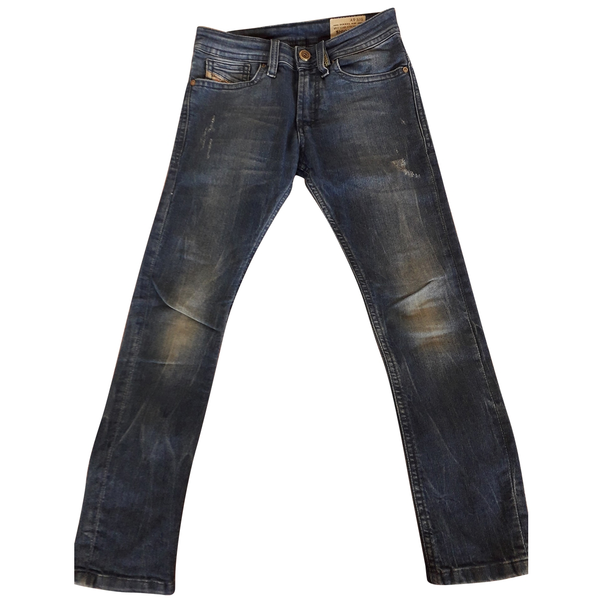 Diesel \N Blue Cotton Trousers for Kids 6 years - up to 114cm FR