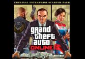 Grand Theft Auto V + Criminal Enterprise Starter Pack DLC Rockstar Digital Download CD Key