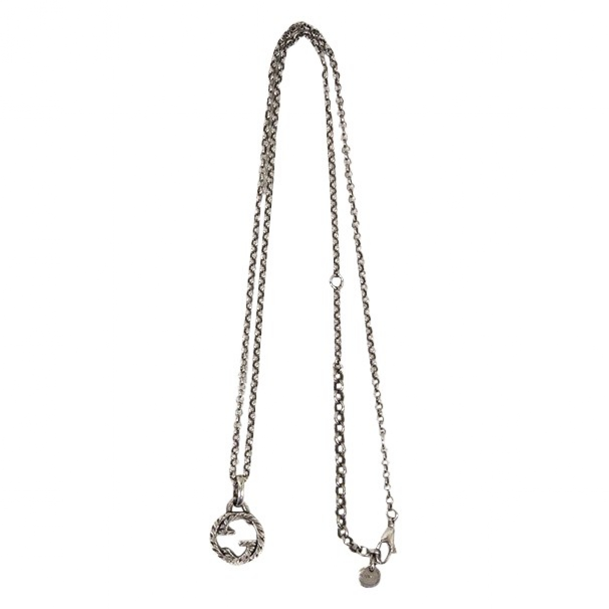 Gucci \N Kette in  Silber Silber