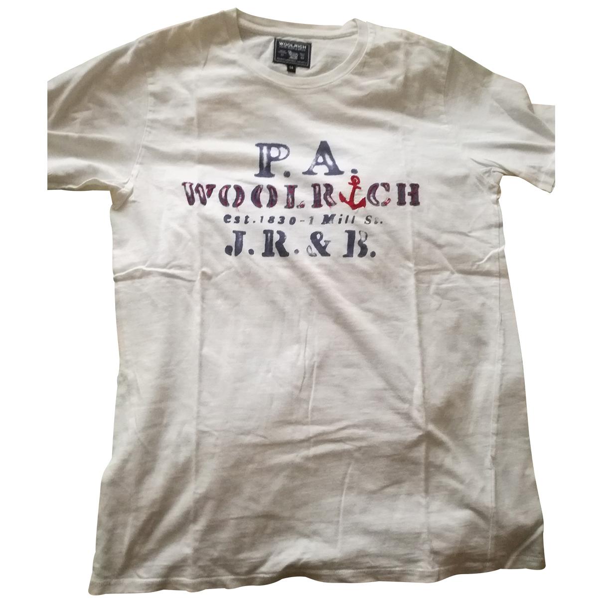 Woolrich \N T-Shirts in  Weiss Baumwolle