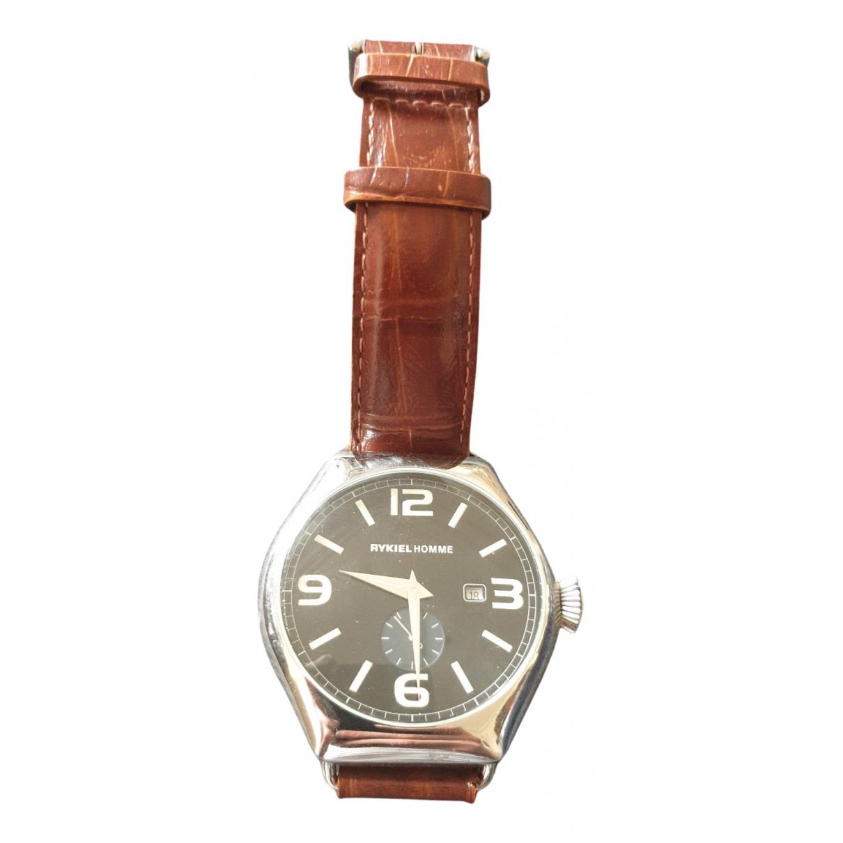 Rykiel Homme N Brown Steel watch for Men N