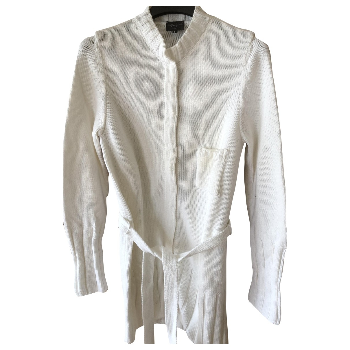 Non Signé / Unsigned \N White Cotton Knitwear for Women 1 US