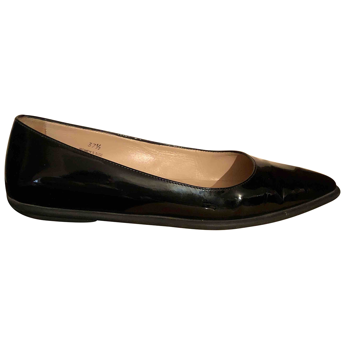 Tod's \N Black Leather Ballet flats for Women 37.5 IT