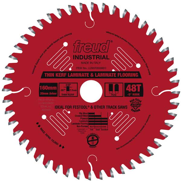 Thin Kerf Double Sided Melamine Track Saw Blade