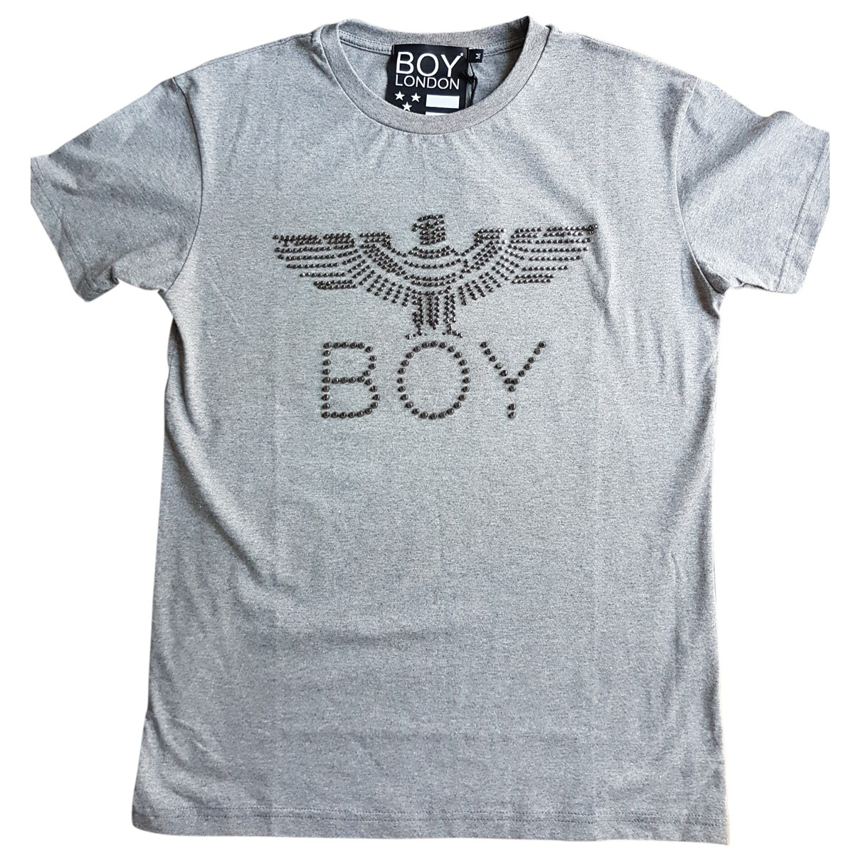 Boy London \N T-Shirts in  Grau Baumwolle