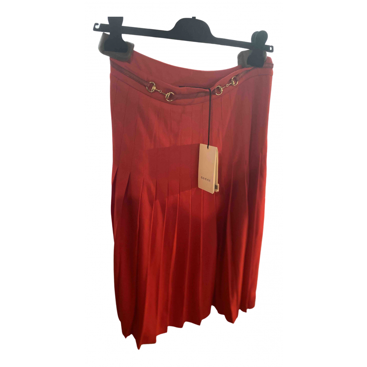 Gucci N Red Wool skirt for Women 40 FR