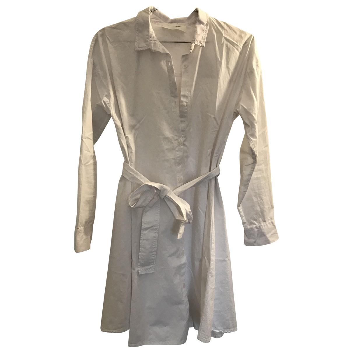 American Vintage \N Kleid in  Weiss Baumwolle