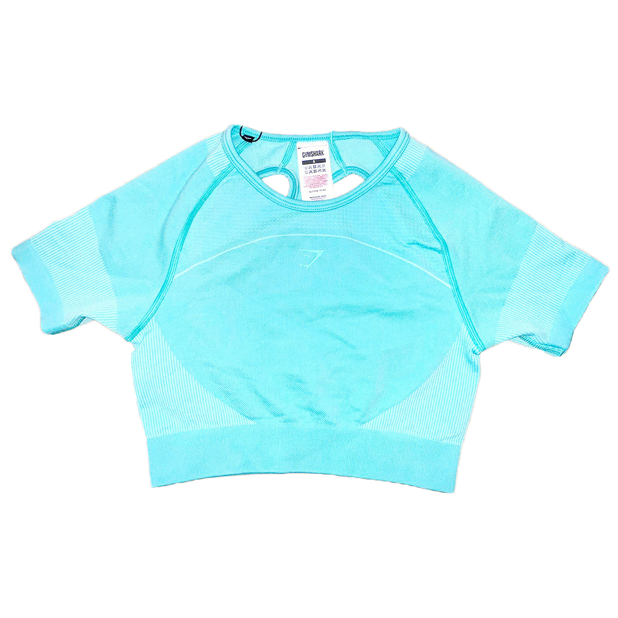 Gymshark - Top   pour femme - turquoise