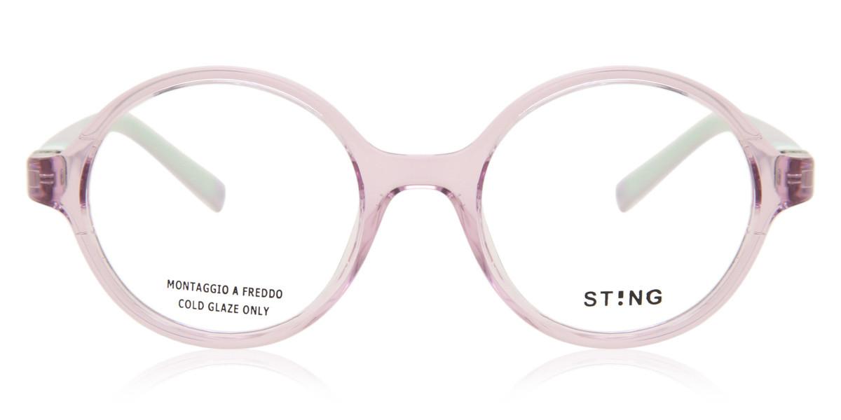 Sting VSJ654 Kids 0J11 Kids' Glasses Violet Size 42 - Free Lenses - HSA/FSA Insurance - Blue Light Block Available