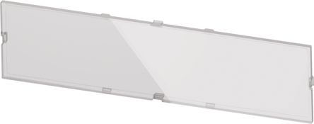 Italtronic Panel for use with Modulbox XTS, Transparent