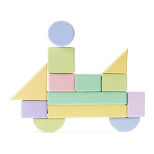 Xiaomi Mijia 80PCS Building Blocks Wooden Puzzle Toy - Colorful