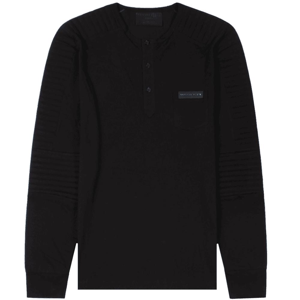 "Philipp Plein ""Pick up"" Sweatshirt  Colour: BLACK, Size: LARGE"