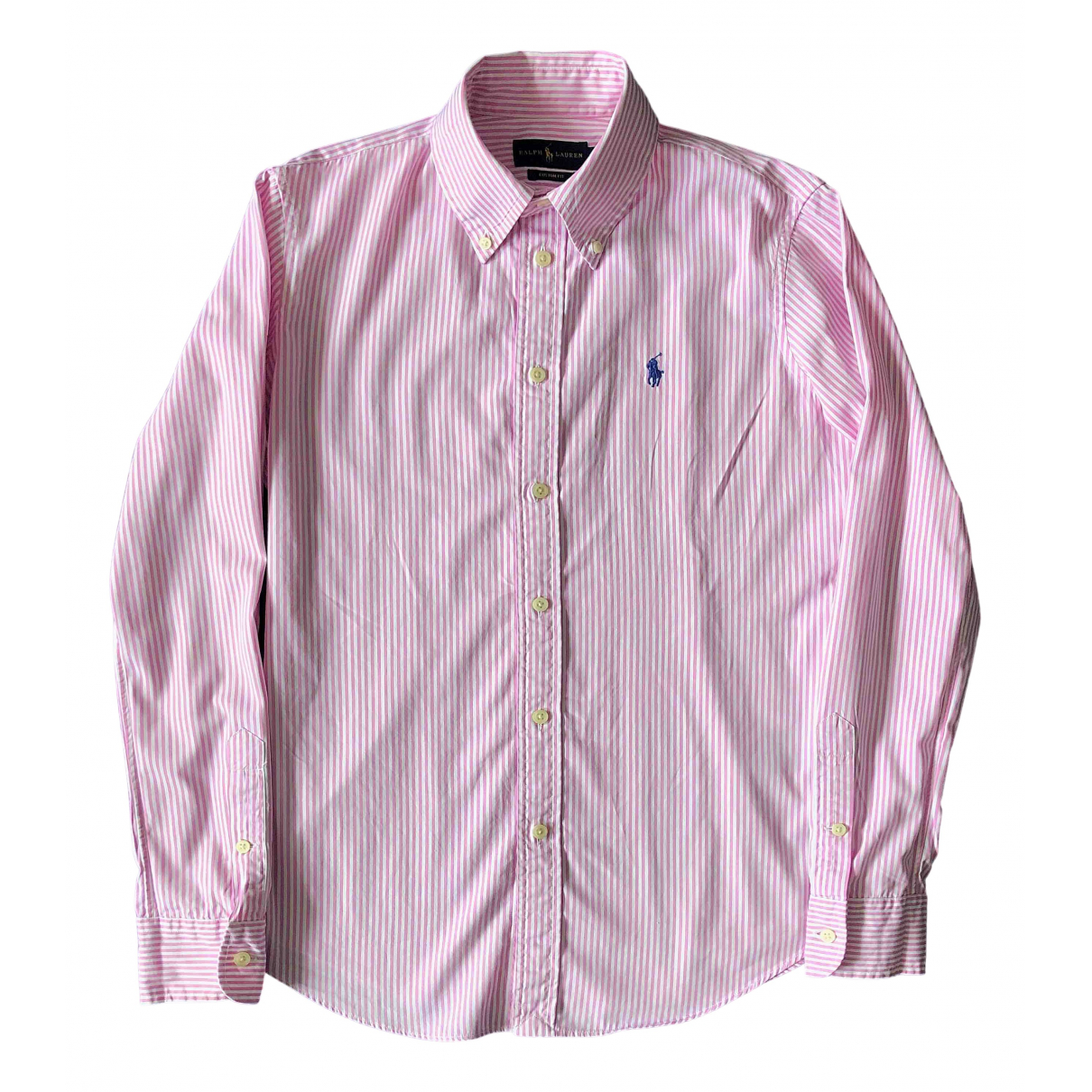 Polo Ralph Lauren \N Pink Cotton  top for Women 4 UK