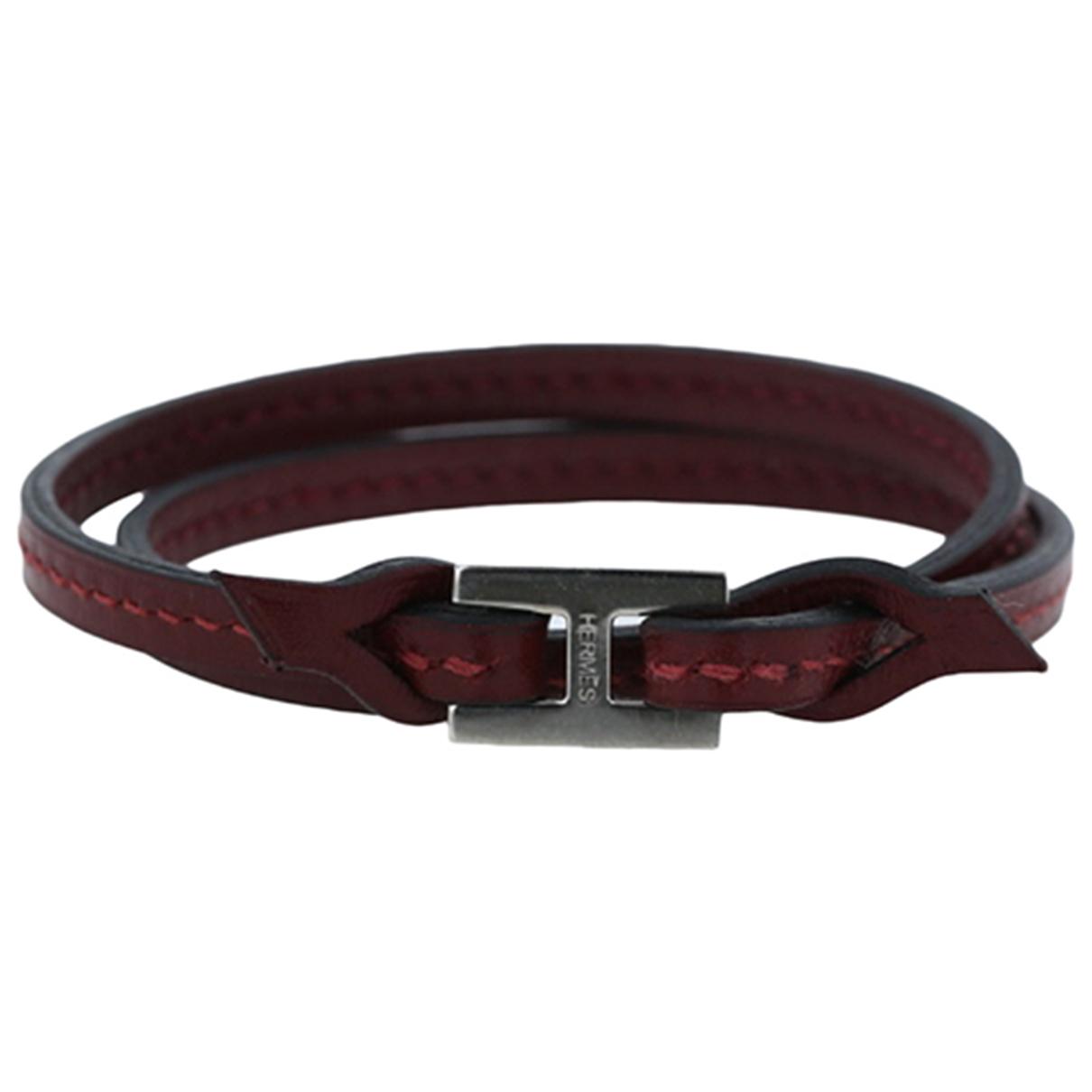 Hermes - Bracelet   pour femme en cuir