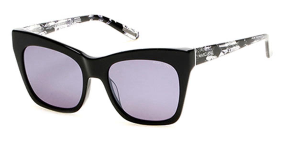Guess GM 0759 01C Women's Sunglasses Black Size 55